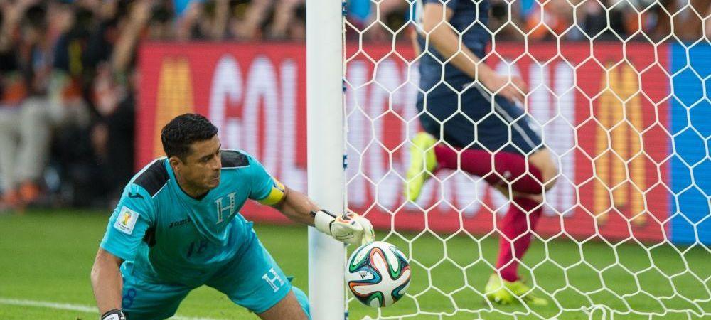 Portarul Hondurasului a bifat doua recorduri aproape imposibil de batut in meciul cu Franta! Cum a intrat in istorie deja