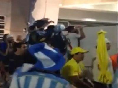 ASTA s-a intamplat aseara pe Maracana inainte de Argentina - Bosnia! Fani au intrat cu FORTA pe stadion. Imagini senzationale