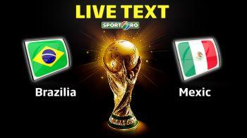 BRAZILIA 0-0 MEXIC: ZERO goluri, 100% DRAMA!Ochoa a facut minuni si a anulat sutele de milioane de euro ale Braziliei la mondial