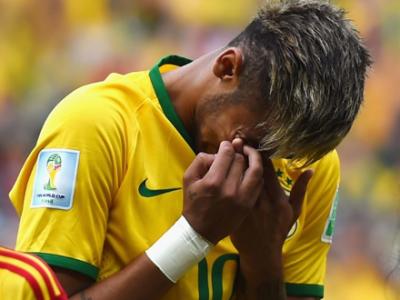 Momente emotionante inainte de meciul Braziliei! Neymar a izbucnit in lacrimi pe gazon. Imagini