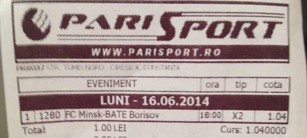 Caterinca zilei! Kafka a jucat la o casa de pariuri din Constanta: a castigat biletul, dar a luat mai putini bani decat a pariat