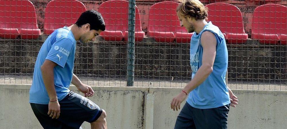 """""""Nu va mai fi la fel!"""" Cum arata piciorul lui Suarez dupa operatie! Imaginea surprinsa la antrenament cu starul Uruguayului"""