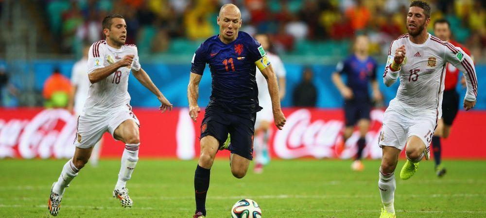 Nu Robben a fost cel mai RAPID jucator de la Mondial! Surpriza de proportii: Ce jucator a alergat cu 32.98km/h