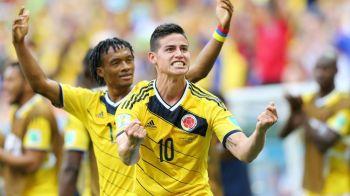Imagine senzationala la CM! Ce au facut jucatorii Columbiei dupa ce au dat gol impotriva Coastei de Fildes