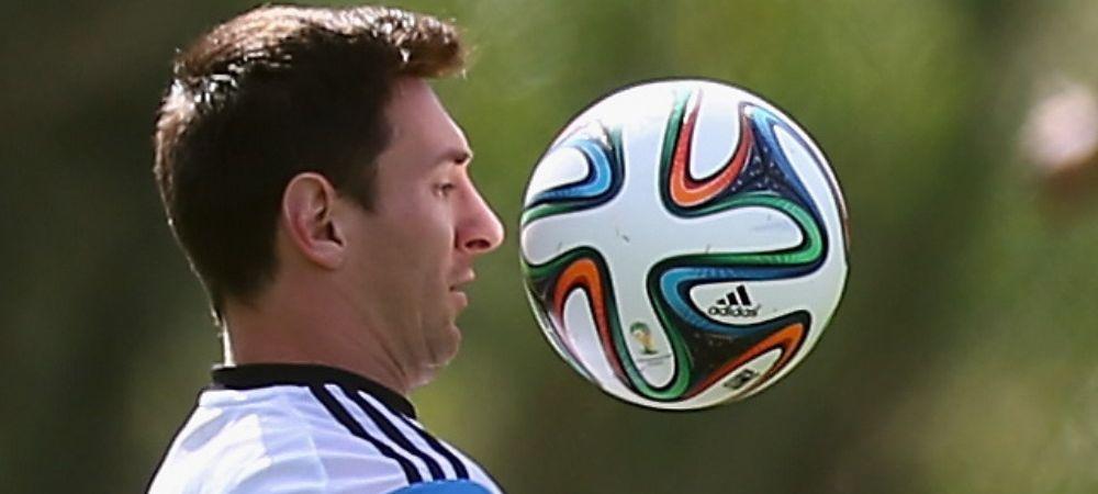 Messi a fost inlocuit cu un ROBOT. Cea mai neobisnuita imagine de la Mondialul din Brazilia