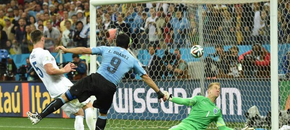 Scene DRAMATICE pe banca de rezerve a Uruguay-ului dupa iesirea lui Suarez! Imaginea a devenit viral in cateva secunde.