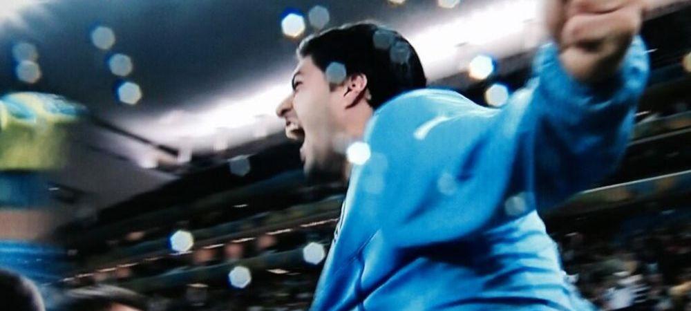 Imaginea care face cat O MIE de cuvinte! Reactia lui Luis Suarez dupa ce a dat golul vietii la nationala
