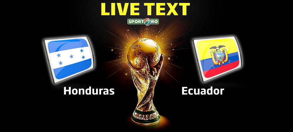 VIDEO REZUMAT Ecuador intoarce scorul si viseaza la calificarea in optimi: Honduras 1-2 Ecuador! Dubla Enner Valencia