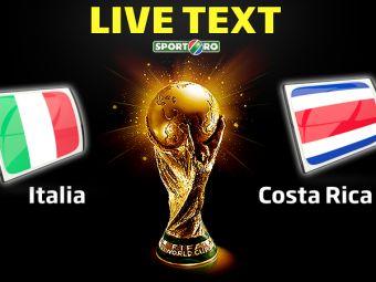 Italia 0-1 Costa Rica, in SOCUL grupei D! Costa Rica se califica dintr-o grupa a MORTII, Anglia este eliminata!