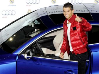 FOTO CADOU de 1,3 milioane de euro! Cum arata noul BOLID de 1000 de cai al lui Cristiano Ronaldo: