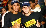 """""""FRATELE"""" lui Neymar a ajuns la Craiova! A copilarit cu vedeta Brazilei la Santos, acum va juca la CSU! VIDEO"""