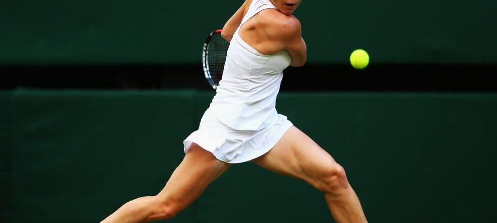 SIMONA HALEP, calificare fara emotii in turul doi la Wimbledon! Care e urmatoarea adversara a romancei: