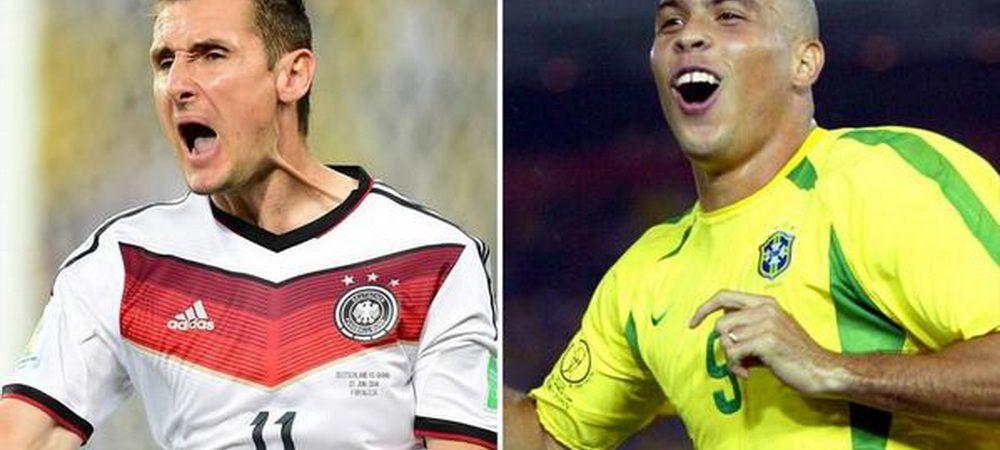 "Ronaldo nu e suparat ca a fost egalat: ""Klose, bine ai venit in club!"" Ce a spus brazilianul:"