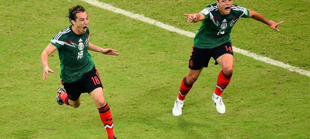 UN GuardaDOS si TRES la unu! Mexic se califica dupa un meci formidabil! Brazilia - Chile si Mexic - Olanda, in optimi!