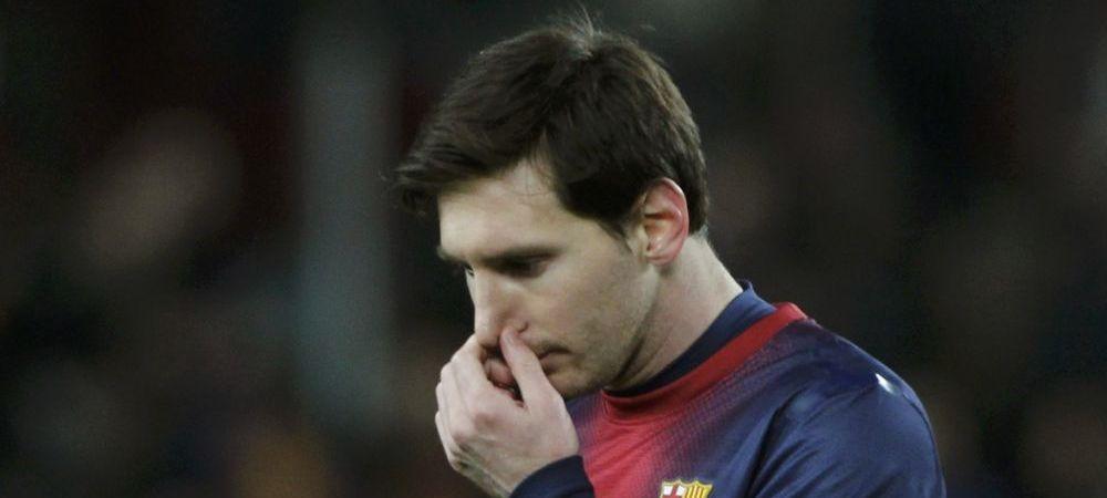 Messi a PLATIT 25 de milioane de euro ca sa SCAPE de rusine! Moment jenant pentru un star din fotbal: