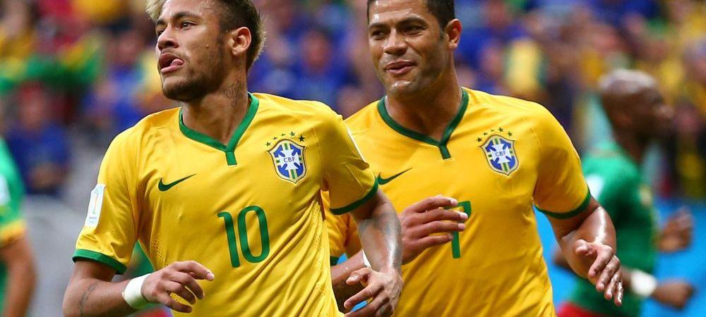 Performanta fabuloasa a lui Neymar, la doar 22 de ani! Starul Barcei, mai tare ca Ronaldinho! Ce a reusit impotriva Camerunului