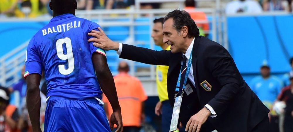 "Balotelli l-a INGROPAT pe Prandelli: ""A fost greseala mea ca l-am bagat!"" Selectionerul si presedintele federatiei iteliene si-au dat demisia!"
