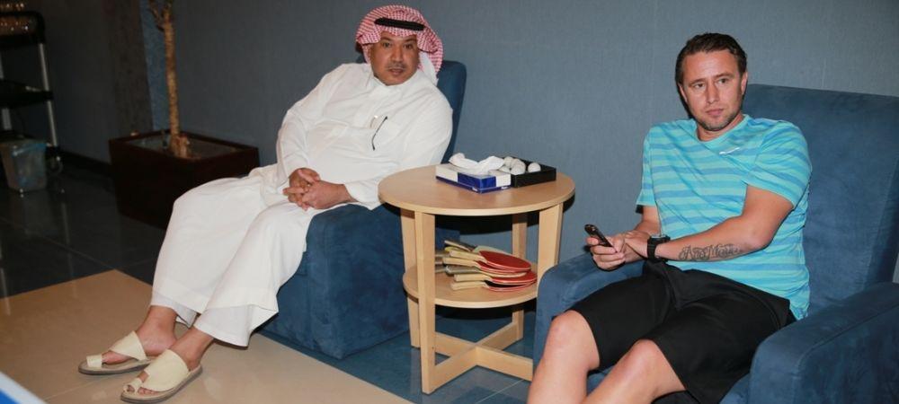 Ultimul transfer facut de Reghecampf la Al Hilal:Dupa Pintilii, a mai luat un roman! A fost prezentat alaturi de lot la reunire