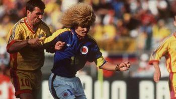 """""""Am amintiri URATE de atunci, Hagi era un fotbalist urias!"""" Cum povesteste Valderrama 'Ziua Z' a nationalei Romaniei:"""