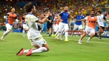 Antifotbalul in KARNEZIS si OASE se califica in min92! Grecia 2-1 Coasta de Fildes! OPTIMI Uruguay - Columbia, Grecia - Costa Rica
