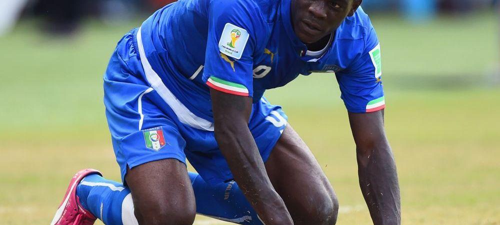 Balotelli e primul jucator DAT AFARA de colegi din nationala! Ce s-a intamplat in vestiarul Italiei dupa DRAMA cu Uruguay
