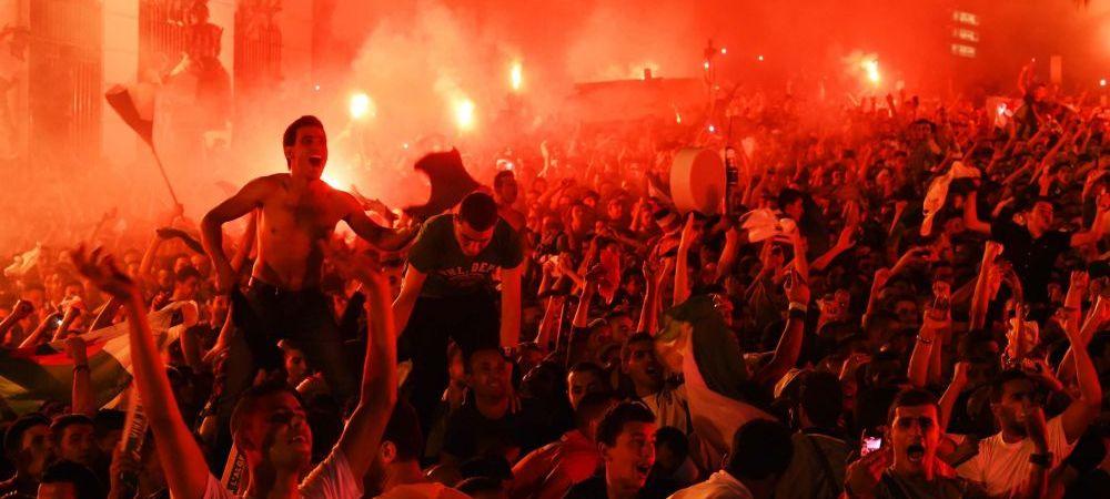Calificarea in optimi a APRINS Algeria! Fanii au declansat nebunia pe strazi, dar s-au batut cu politistii din Paris si Lyon