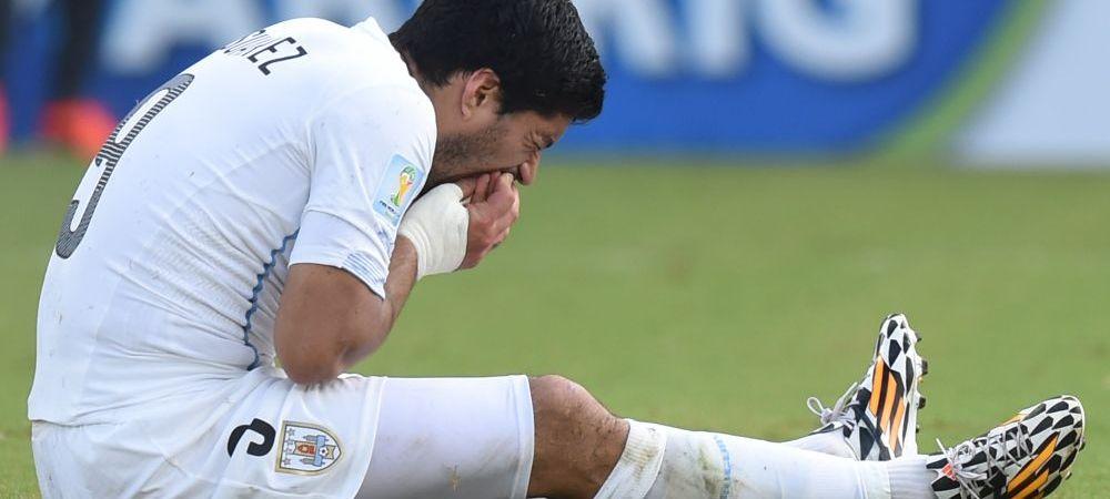 Numele lui Luis Suarez a fost STERS de peste tot! E ultima lovitura la care se astepta dupa suspendarea record