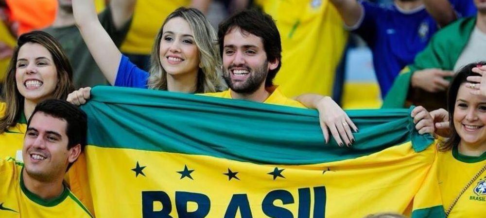 Moment superb la Brazilia - Chile! Cum aratau fetele lui David Luiz si Julio Cesar la intonarea imnurilor