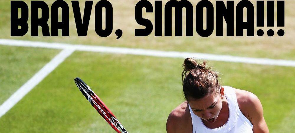 LECTIA lui Halep! Simona a impresionat inca o data! Ce s-a intamplat pe site-ul oficial de la Wimbledon dupa calificarea in optimi
