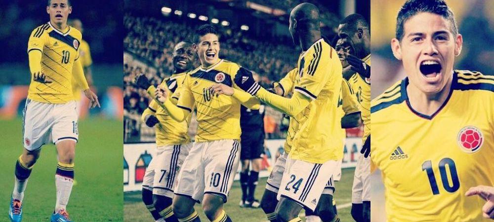 "Doamne, CE GOL! James Rodriguez a dat golul Mondialului, explozie pe net: ""El trebuie sa fie Balonul de Aur!"""