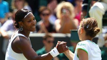 """Cu ce FENOMEN este comparata Simona la Wimbledon! Serena: """"Fetele astea joaca cu mine de parca ar fi un meci de ATP, cu barbati"""""""