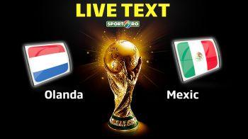 Adiós Cielito Lindo! OLANDA 2-1 MEXIC! Olandezii au fost FURATI de Proenca, apoi ajutati! In min. 88 Mexic conducea, in 93 a murit