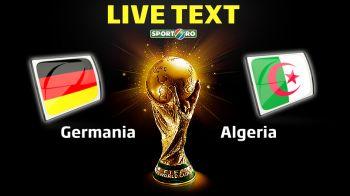 FRANTA - GERMANIA in sferturile CM! Schurrle i-a salvat pe nemti in min 2 al prelungirilor, Ozil si Djabou au inscris in ultimele secunde ale meciului! Germania 2-1 Algeria