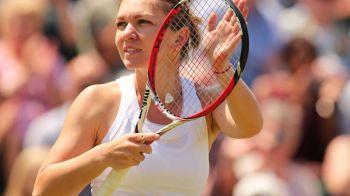 EMOTII pentru Simona Halep, toata lumea s-a intrebat ce a patit! Cum a aparut pe arena de la Wimbledon. FOTO