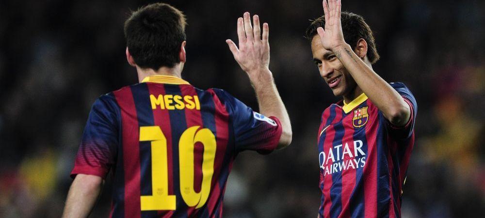 """Neymar 'il ia' peste picior pe Messi: """"Sunt mai rapid si am par mai frumos!"""" :) Ce reactie a avut Messi cand a vazut confesiunea"""