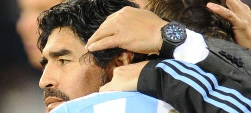 Maradona a primit oferta de a califica o nationala la urmatorul Mondial! Nu e chiar cea mai puternica echipa din lume :)