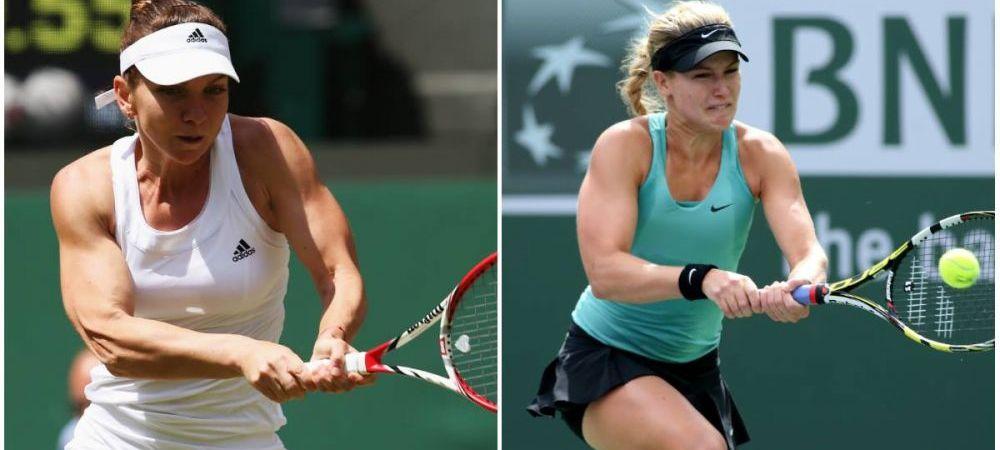 "Cine este Eugenie Bouchard, adversara Simonei Halep in semifinala de la Wimbledon: ""E ca un uragan, e mereu imprevizibila"""