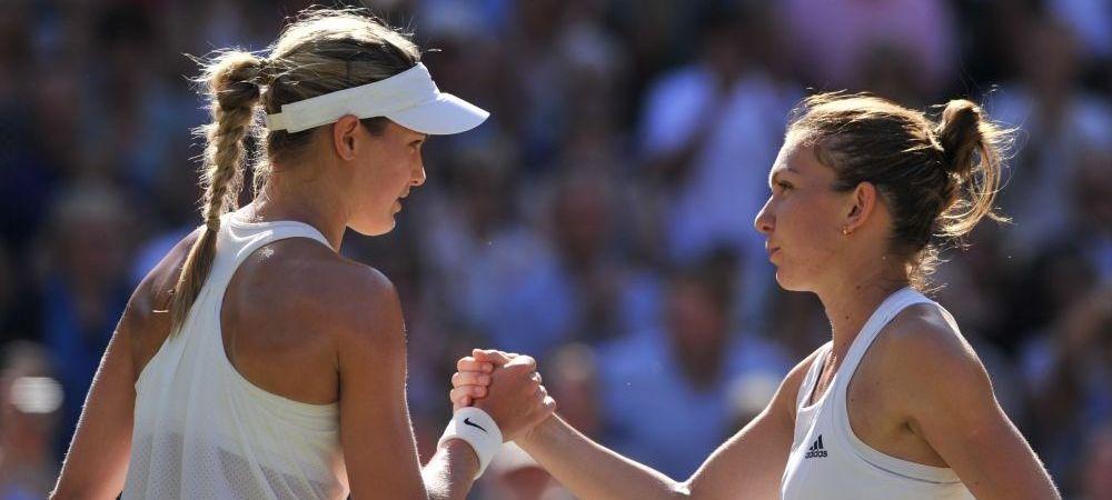 """EXCLUSIV: Analiza CTP, dupa eliminarea Simonei de la Wimbledon: """"Terenul a fost ca Valea Mortii, Bouchard a fost penibila"""""""