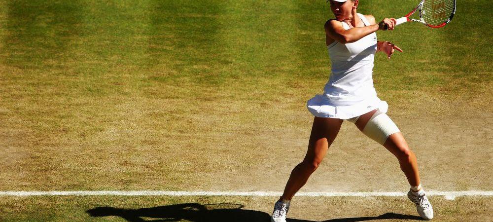 """""""Mi-a fost greu, foarte greu si a devenit din ce in ce mai greu!""""  Prima reactie a Simonei Halep dupa ce a pierdut la Wimbledon"""