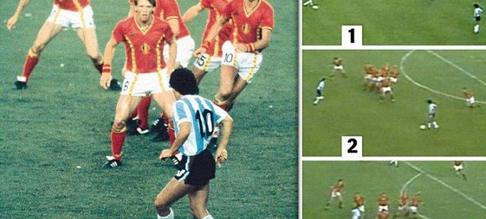 Cea mai tare imagine din istoria Cupei Mondiale e o ILUZIE OPTICA! Ce s-a intamplat in realitate la aceasta faza. FOTO