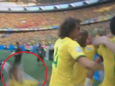 Momente de panica la Fortaleza! Ce a patit Neymar dupa marcarea golului cu Columbia. VIDEO