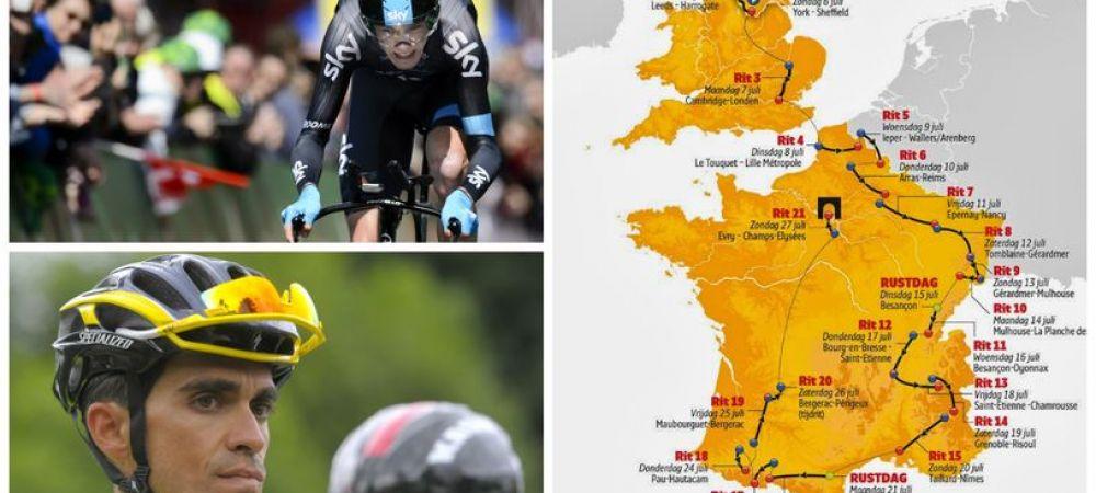 START in Le Tour   Editia cu numarul 101 a celui mai faimos tur ciclist a inceput la Yorkshire! Contador si Froome, marii favoriti