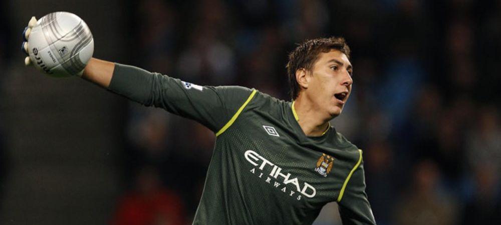 Manchester City a facut al treilea transfer al verii. El este omul care a venit in locul lui Pantilimon