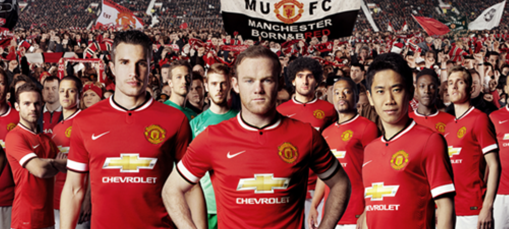Manchester United si-a lansat oficial noile echipamente. Ce mesaj a fost scris pe tricouri. FOTO
