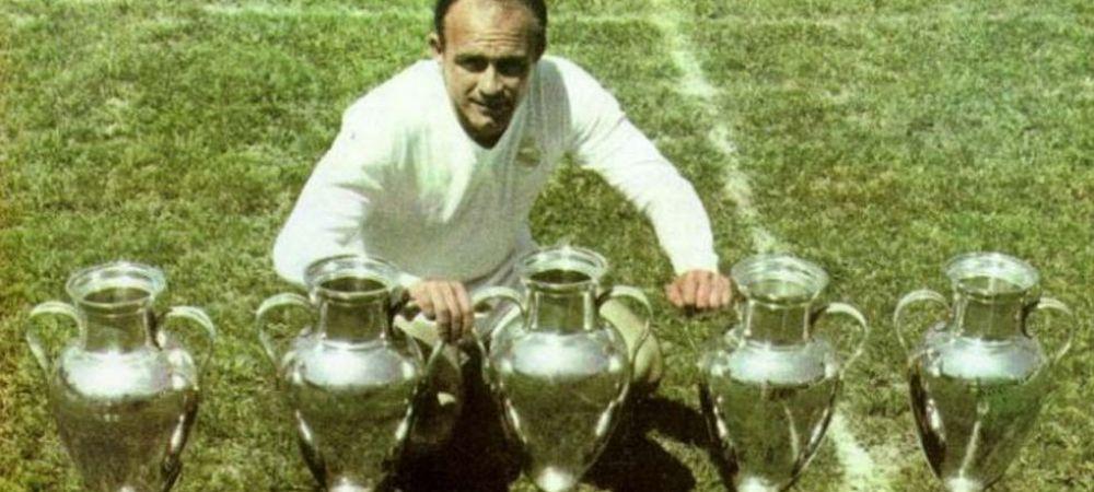 Real Madrid e in DOLIU! Cel mai mare jucator din istoria clubului a murit in urma cu putin timp!