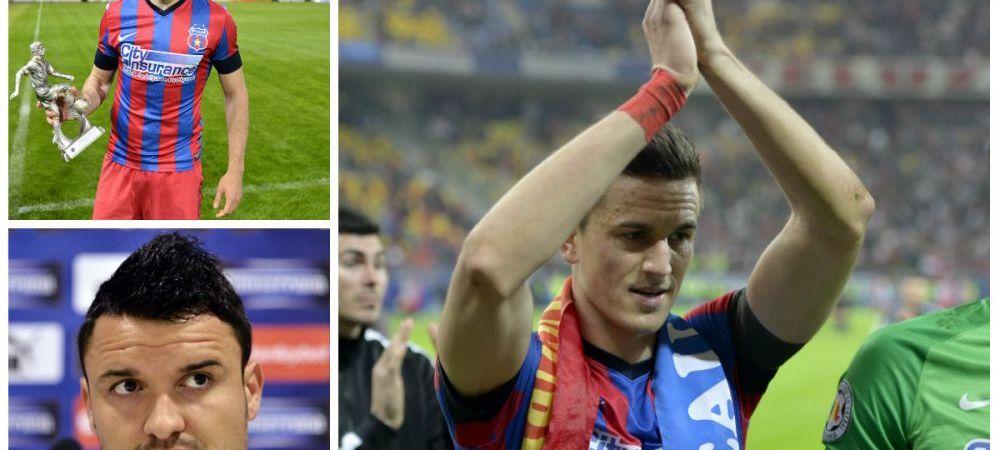 TOP 10 jucatori in Liga I: Steaua domina clasamentul cu 7 jucatori! Cum arata lista VALORII din Romania!