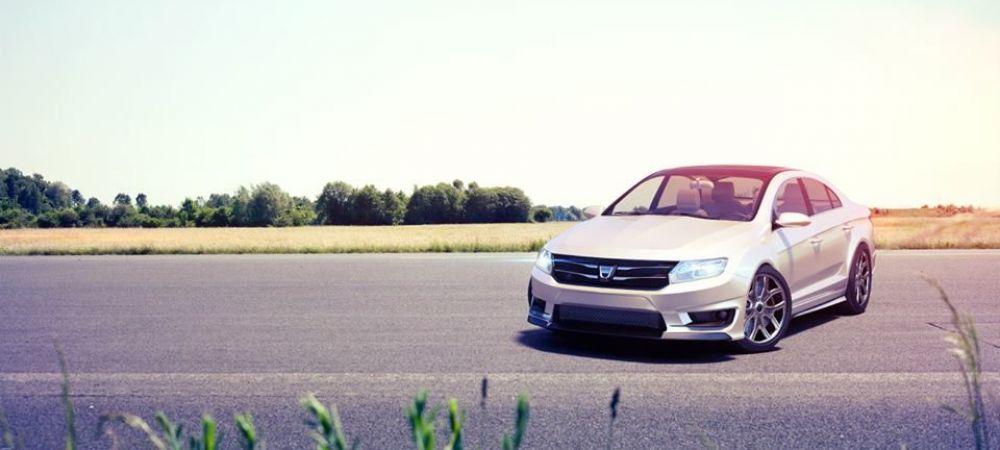 Ar putea fi cea mai TARE Dacia din istorie! Cum arata LOGOS, concept FABULOS pentru Logan. FOTO