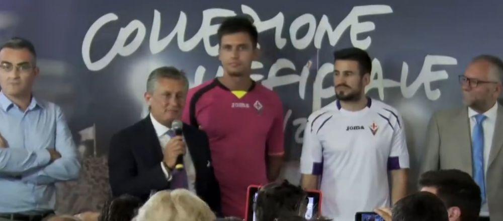 """Prima reactie a lui Tatarusanu dupa ce s-a imbracat in echipamentul Fiorentinei: """"E fantastic!"""" VIDEO"""