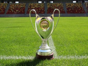 SUPER FOTO! Trofeul unic in Romania pentru care se lupta Steaua si Astra, vineri, la ProTV! Asa arata noua SuperCupa a Romaniei