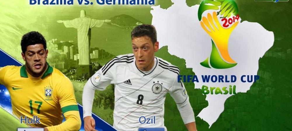 21 de intalniri, doar una la un turneu final! Brazilia domina Germania la meciurile directe si i-a luat trofeul MONDIAL de sub nas